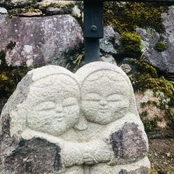 大原女石像