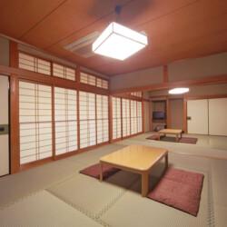 大原山荘 客室