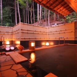 大原山荘 檜風呂露天